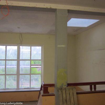Vor vielen Jahren hatte dieses Fenster eine Bleiverglasung