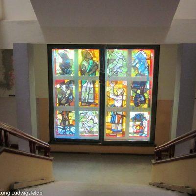 Auch die rekonstruierten Fenster konnten wieder eingesetzt werden