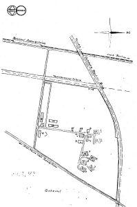 Lageplan 1943