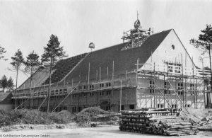 Fertigstellung des Daches