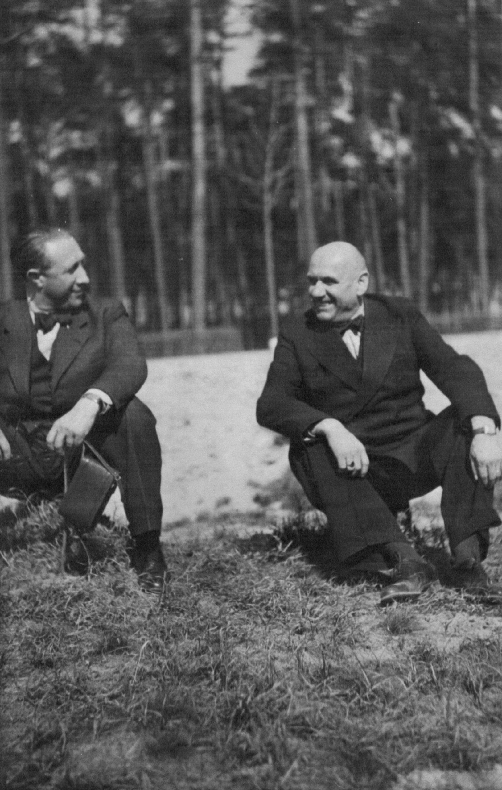 Ludwig Behrends und Wilhelm Timm