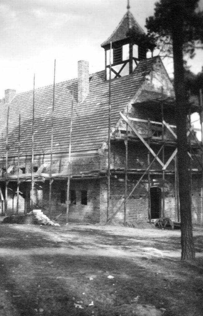 Die Kirche in der Bauzeit
