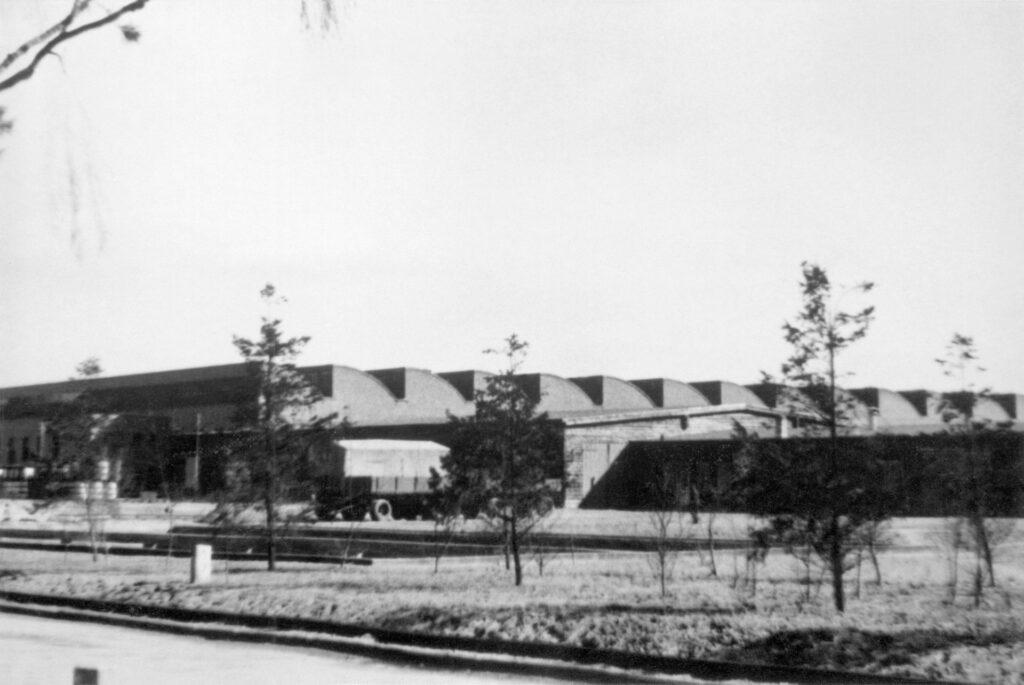 Werk Genshagen, Halle 24: Großmontage , ca. 1940.